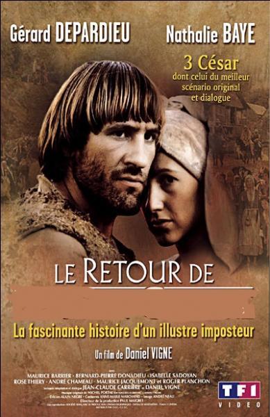 """De qui était-ce """"Le Retour"""" dans un film de Daniel Vigne sorti en 1982, avec Gérard Depardieu et Nathalie Baye dans les rôles principaux ?"""