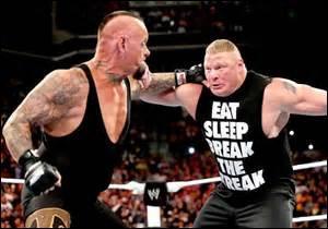 Qui est le seul à avoir battu The Undertaker à un WrestleMania ? ! (indice : c'était au WrestleMania 30)