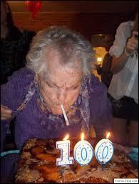Terminez cette citation sur la vieillesse : Vous commencez à vous rendre compte que vous vieillissez ...