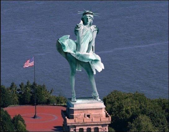 Qui a dit : La dernière fois que j'ai pénétré une femme, c'est en visitant la statue de la liberté ?