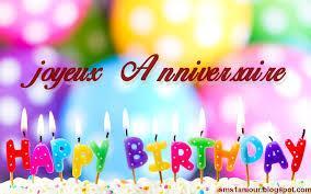 Anne Hiversère te souhaite un bon anniversaire !