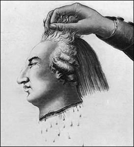 Louis XVI a été guillotiné. (image choquante)