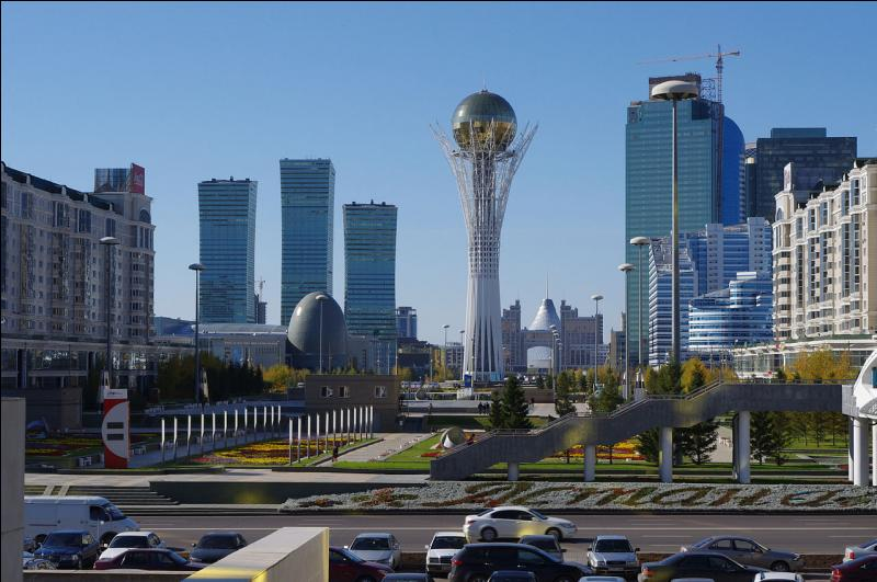 Astana est la capitale du Kazakhstan.