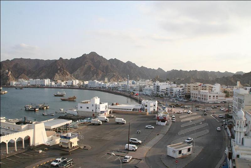 Mascate est la capitale du Sultanat d'Oman.