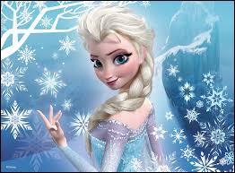 J'ai une robe bleu-glace, j'ai une sœur, je suis reine et j'ai le pouvoir de contrôler la glace et la neige. Qui suis-je ?