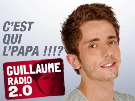 Guillaume à la radio !
