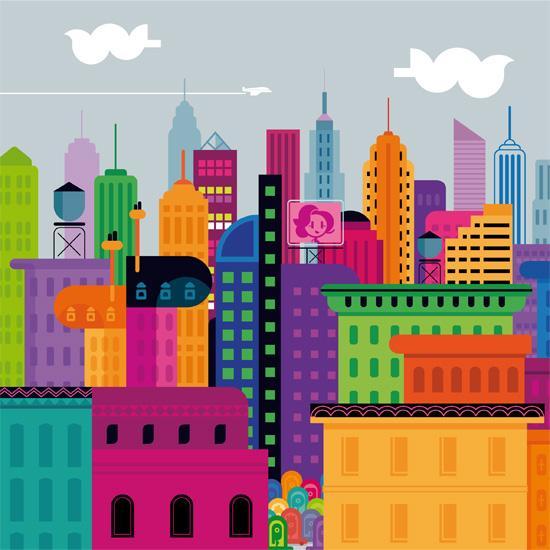 quizz les villes fictives quiz series tele dessins animes. Black Bedroom Furniture Sets. Home Design Ideas