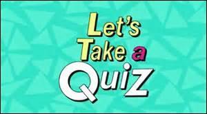 Un quiz totalement rédigé en anglais est accepté sur la version française de Quizz.biz.