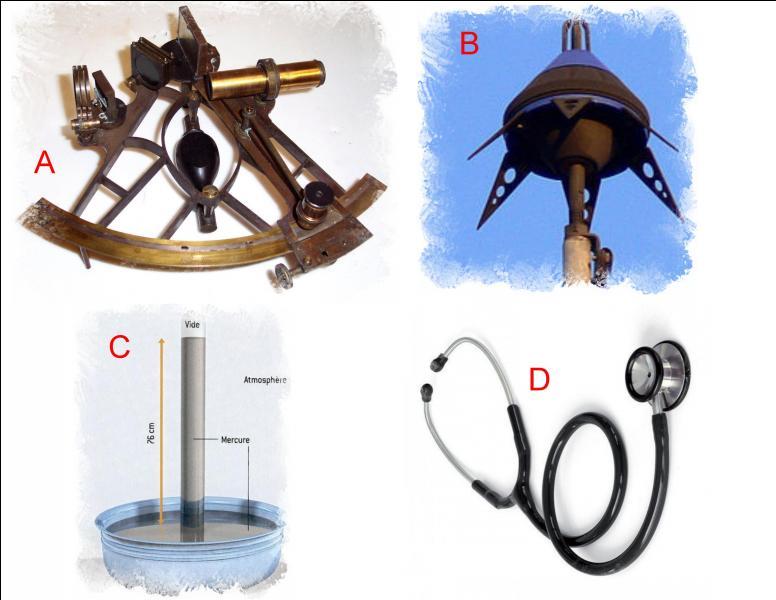 L'invention due à Evangelista Torricelli est représentée en
