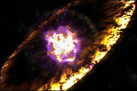 L'explosion d'un Soleil s'appelle :