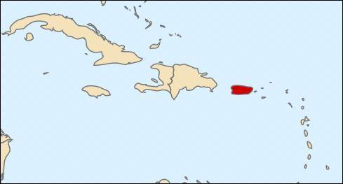 Territoire non incorporé - les îles Vieques, Culebra et Isla Mona - Mer des Caraïbes - une des meilleures équipes de basketball au monde