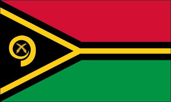 """Océan Pacifique sud - l'île Espiritu Santo - anciennement """"les Nouvelles Hébrides - indépendance le 30 juillet 1980"""
