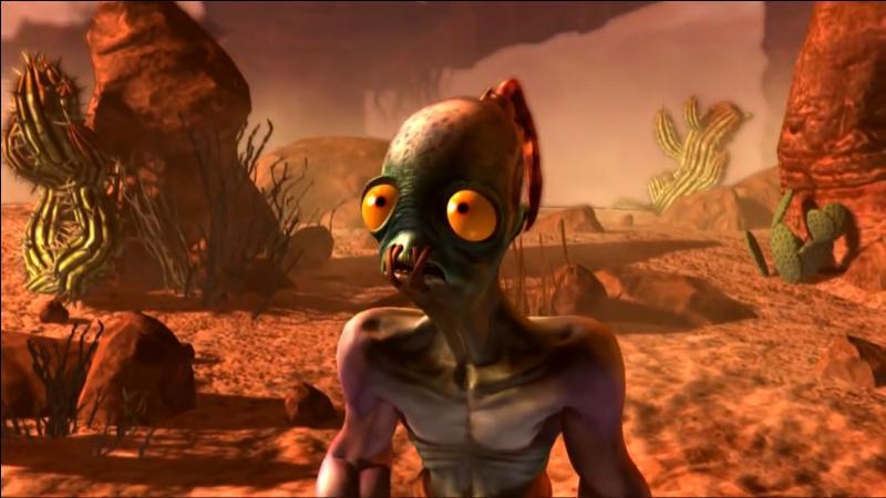 Hé, major 117 ! Tant que tu y es, tu ne pourrais pas délivrer le pauvre Abe ? Ce petit esclave habite sur une gigantesque planète nommée...