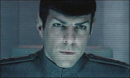 Comment ça, tu as perdu ton vaisseau ? Peut-être que le capitaine Spock pourra t'en prêter un. Comment s'appelle son vaisseau ?