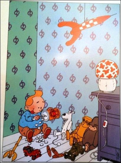 Que sait-on de Tintin, dont Hergé évoque peu l'enfance ?