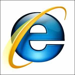 Ah, voici un logo très connu en forme de 'e' ! Mais que représente ce logo ?