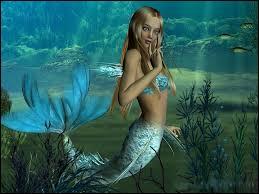 Je suis connue pour vivre sous l'eau, chantée et avoir une queue de poisson. Qui suis-je ?