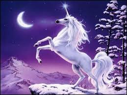 Connu(e) pour ma corne, je me laisse approcher par des jeunes filles et je suis un cheval. Qui suis-je ?