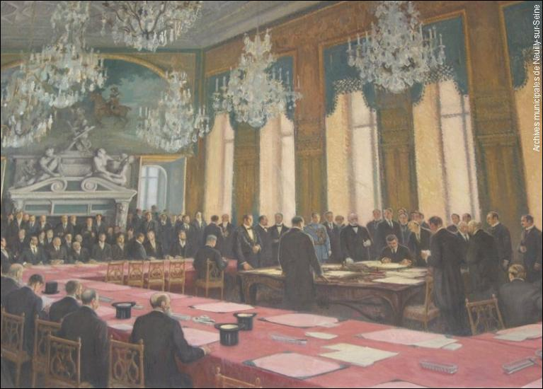 En 1919, le traité de paix a été signé au château de Versailles. Dans quelle salle ?