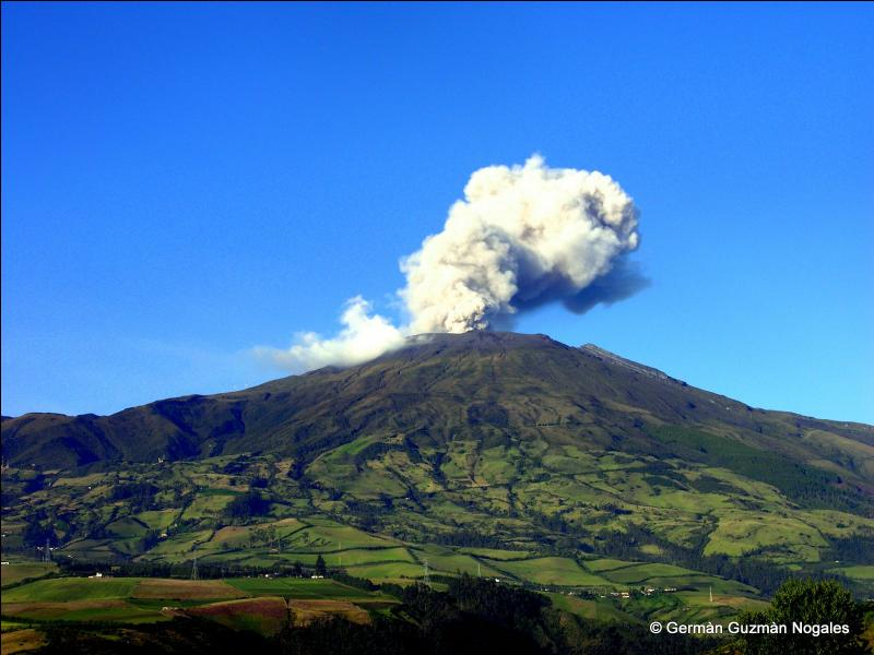 Dans quel pays se situe le volcan Galeras ?
