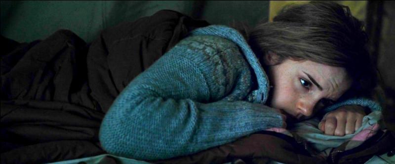 Hermione fut libérée de toute passion factice, et fut alors horrifiée de voir Harry dans les bras de cette Ginny. Désemparée, elle céda à ses pleurs et entra dans une léthargie qui s'éternisa.