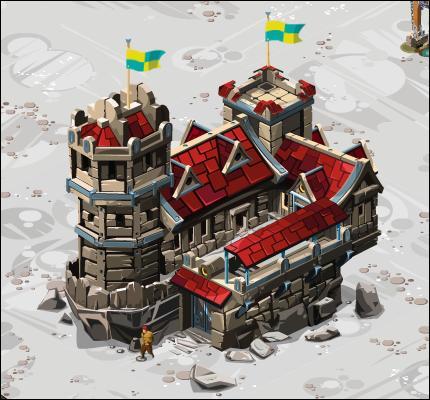 C'est la pièce principale du château. Quel est ce bâtiment ?