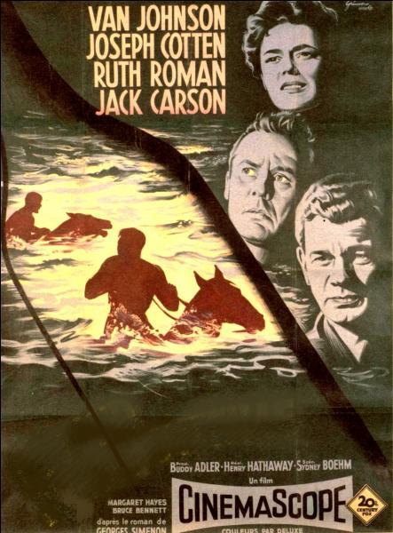 Adapté d'un roman policier et réalisé par Henry Hathaway en 1956. L'action de ce film américain se déroule parmi les orages d'une vallée mexicaine...