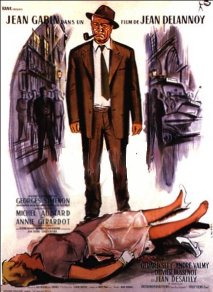 Film réalisé par Jean Delannoy en 1958. L'enquête du commissaire Maigret, incarné par Jean Gabin Se déroule dans le quartier parisien du Marais...
