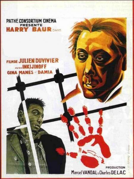 Dans cette adaptation de Julien Duvivier de 1933, c'est le comédien Harry Baur qui campait le commissaire Maigret ...