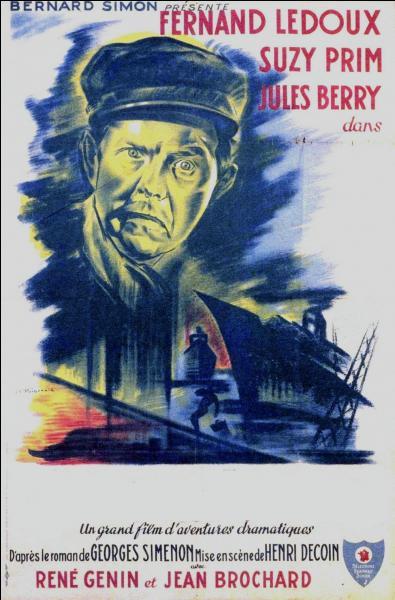 Quel film de 1943 réalisé par Henri Decoin, met en scène deux monstres du cinéma français de l'époque : Fernand Ledoux et Jules Berry ?
