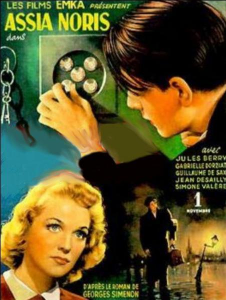 Le réalisateur Louis Daquin adapte en 1943 pour le cinéma ce roman éponyme de Simenon, dont l'action se déroule principalement à La Rochelle...