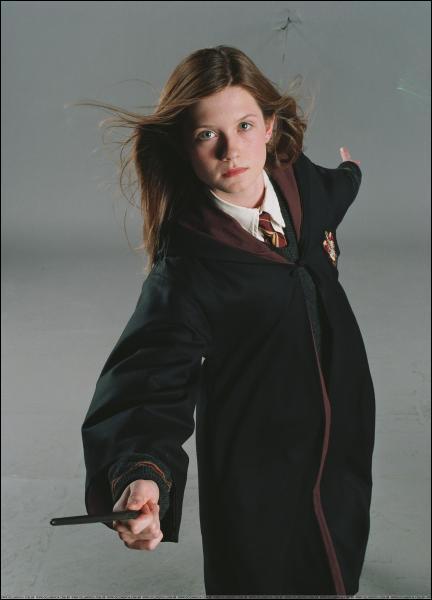 Quel est le vrai prénom de Ginny Weasley ?