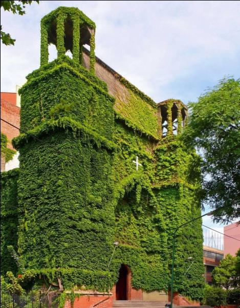 Où pourrait donc se trouver cette église verte ?