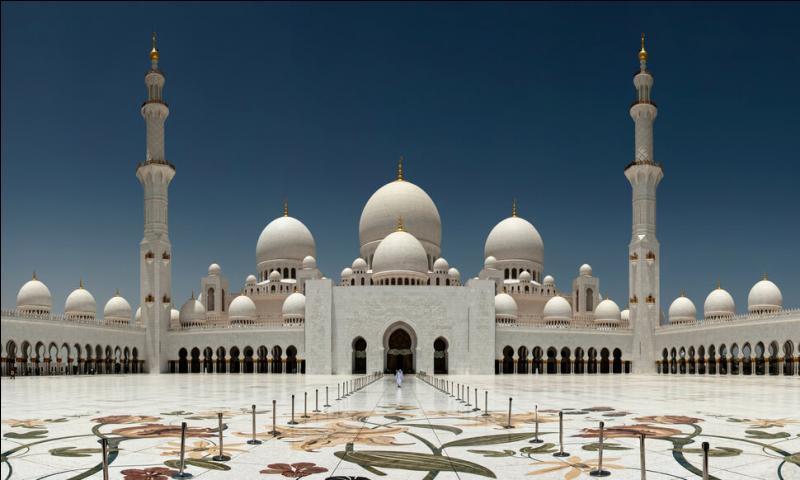 La grande mosquée Sheikh Zayed à Abu Dabi comporte un nombre incalculable de colonnes et de dômes. On les a quand même comptés ! Combien ?