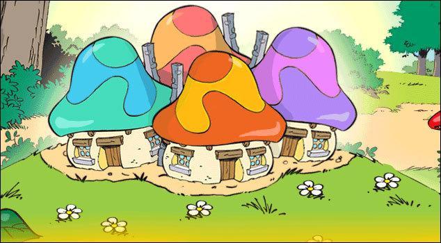 Quelles créatures vivent dans ces champignons ?