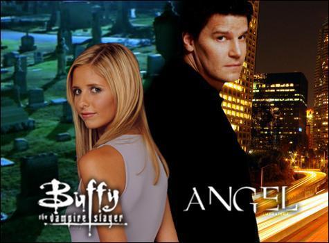 """Dans quelle autre série joue David Boreanaz en compagnie de personnages de la série """"Buffy"""" ?"""