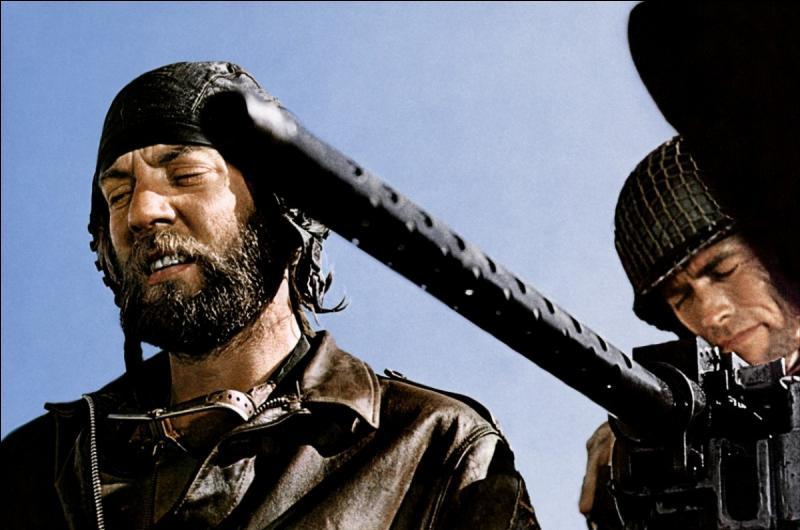 """Dans le film """"De l'or pour les braves"""", de quoi Oddball, le cinglé, en a-t-il marre ?"""