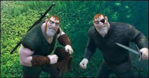 Comment s'appellent les deux frères roux qui en veulent à Flynn Rider ?