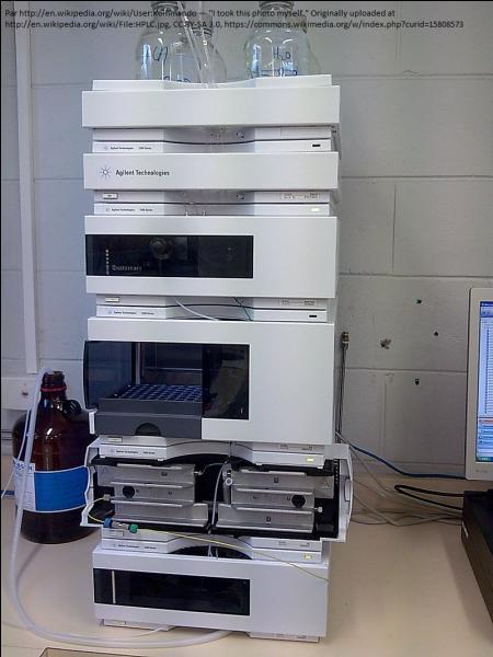 Que se passe-t-il ? Le chromatographe en phase liquide à haute performance évolue ! Il se transforme en...
