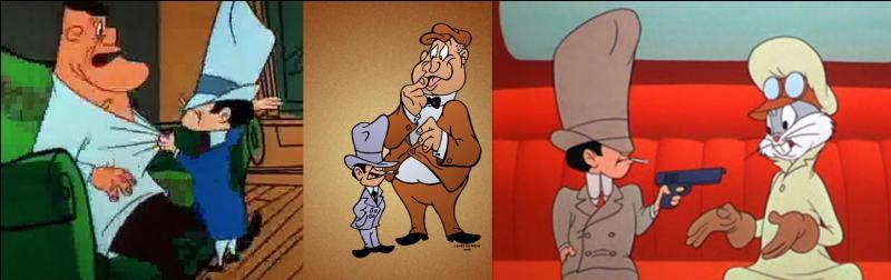 Ces deux-là ne sont pas fréquentables. Bugs Bunny le sait très bien et fait tout pour s'en débarrasser ! D'ailleurs, Titi les a connus, pour le plus grand malheur de ces deux affreux gugusses, d'ailleurs.Qui sont-ils ?