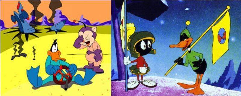 La NASA a choisi de le faire figurer comme mascotte sur le logo de la mission martienne « Opportunity » en 2003. Qui est cet insupportable vantard et égocentrique personnage ?