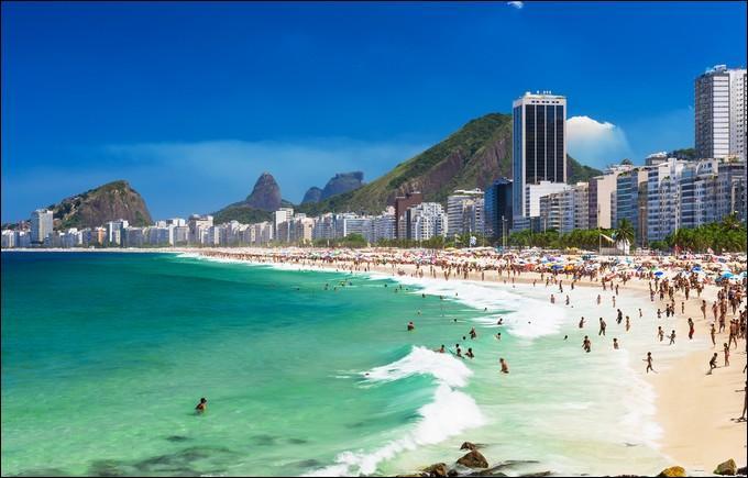 Où êtes-vous si vous êtes sur la plage de Copacabana ?
