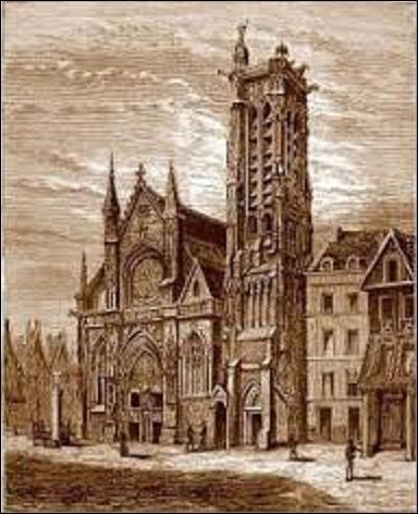 Le 14 janvier 1358, est assassiné, rue Saint-Merri dans le 4e arrondissement de la capitale, Jean Ier Baillet trésorier du dauphin Charles de France. Le tueur, du nom de Perrin Macé ou Perrin Marc, son geste commis, se réfugie dans l'ancienne église Saint-Jacques-la-Boucherie proche du lieu du drame, pensant ainsi jouir du droit d'asile. Mais comment est arrêté le criminel ?