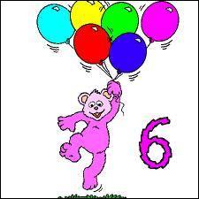 Quelle est la sixième lettre de l'alphabet ?
