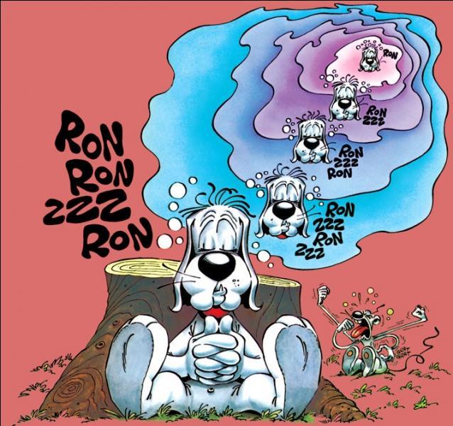 Quel auteur de BD français a créé le chien Gai-Luron ?