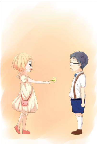 Comment Kaori a-t-il rencontré Kosei pour la première fois ?