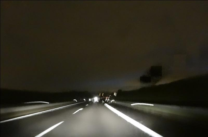 Sur l'autoroute des vacances, c'était sans doute un jour de chance, pour :