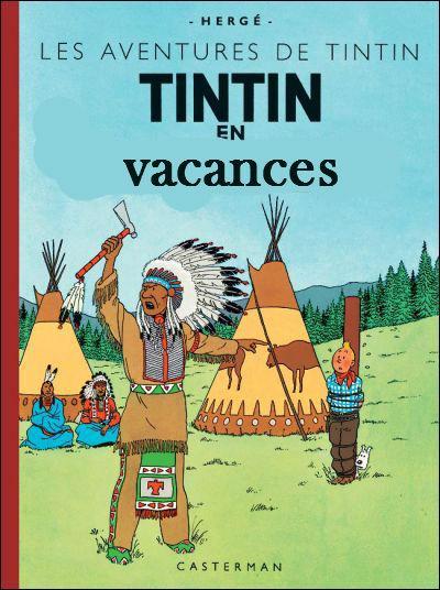 Où Tintin est-il donc en vacances ?