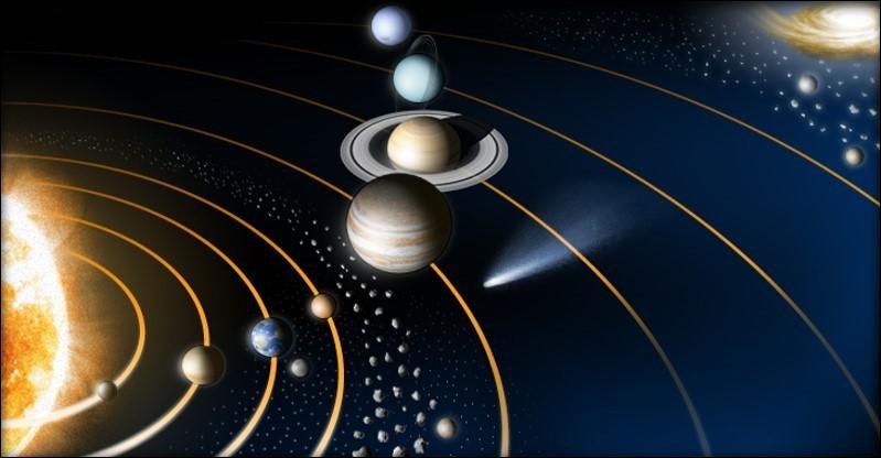 Dans notre Système solaire, les 4 premières planètes sont telluriques à l'inverse des 4 dernières qui sont gazeuses. Est-ce vrai ou faux ?