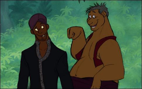 Qui sont ces personnages ? (Dans le film, ce sont une panthère et un ours)
